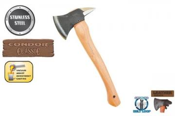 CTK4042C Топор BABY SPIKE AXE 0.5 Lbs Рукоять из гикори Ножны Кожа