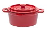FRS-346/RED Кастрюля чугунная красная 650 мл