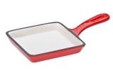 FRS-292/RED Сковорода чугунная красная 14.5*14.5*2 см