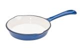 FRS-210/BLUE Сковорода чугунная синяя d.16см