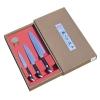 Набор SATAKE Sakura HG8082 из 3х ножей Универсал, Шеф в подарочной коробке