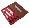Набор SATAKE Swordsmith из 3х ножей Овощной, Универсал, Шеф в подарочной коробке